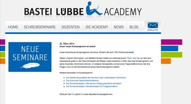 Bastei Lübbe Academie