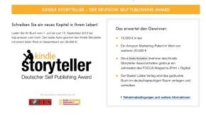 Kindle Storyteller Schreibwettbewerb