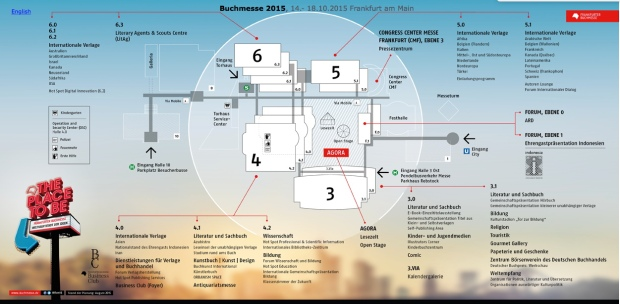 Frankfurter Buchmesse Lageplan